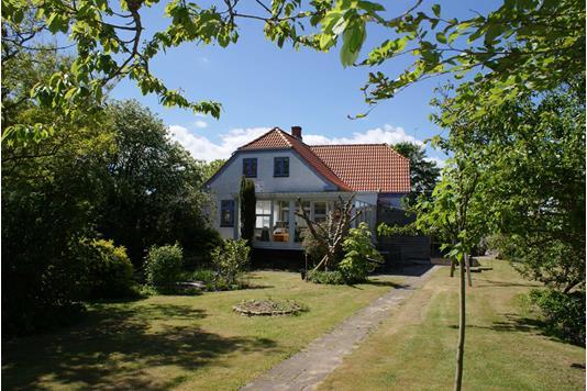 Villa på Kongevejen i Thyholm - Set fra haven
