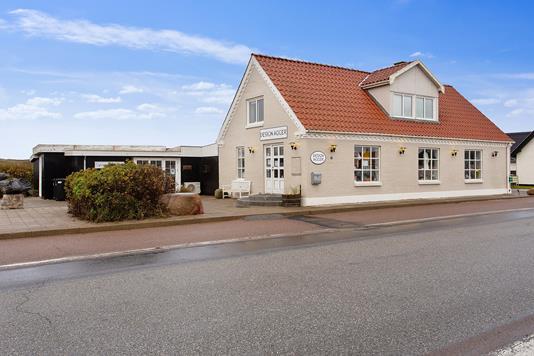 Villa på Vesterhavsvej i Vestervig - Set fra vejen