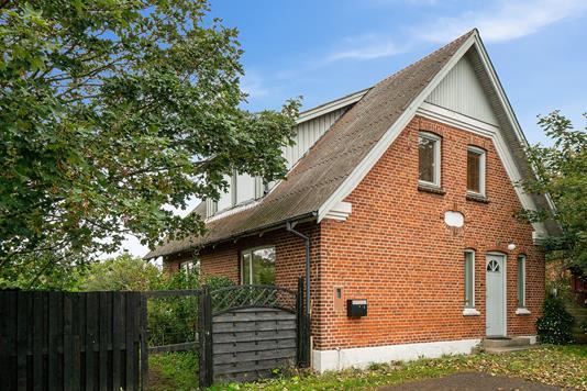 Villa på Rosen Alle i Bedsted Thy - Set fra haven
