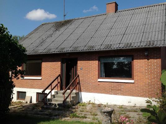 Villa på Ydbyvej i Hurup Thy - Facade