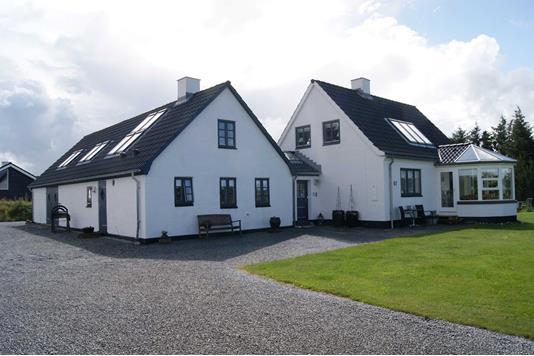 Villa på Bredkærvej i Thisted - Facade