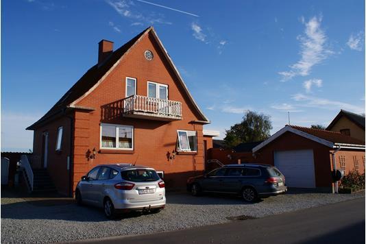 Villa på Knakkergårdsvej i Snedsted - Facade