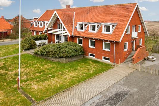 Villa på Ydbyvej i Hurup Thy - Set fra vejen
