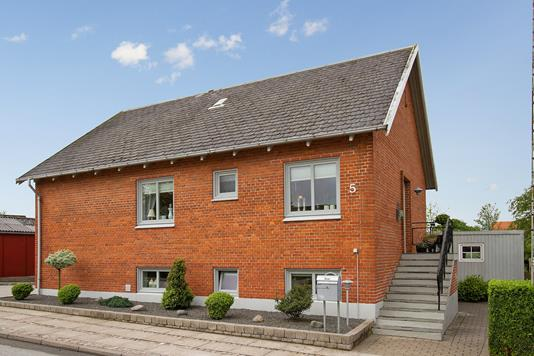 Villa på Fredensvej i Hurup Thy - Ejendommen