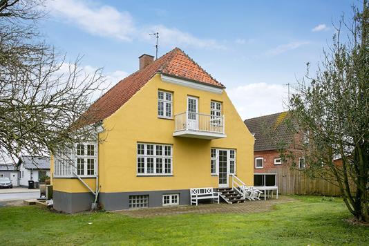 Villa på Vestergade i Vestervig - Set fra haven