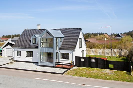Villa på Vesterhavsvej i Vestervig - Facade