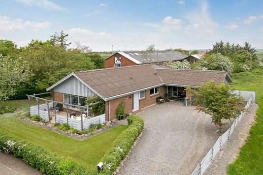 Villa på Bygmarksvej i Snedsted - Ejendommen
