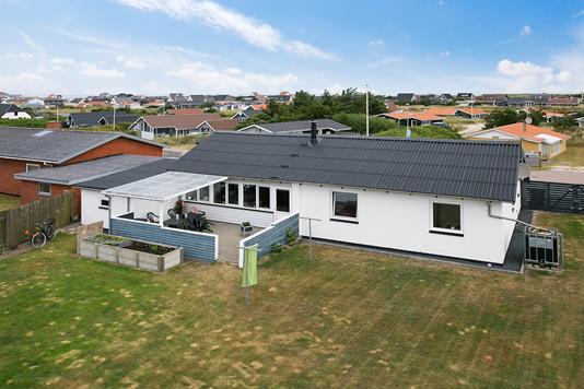 Villa på Fiskervej i Thisted - Luftfoto