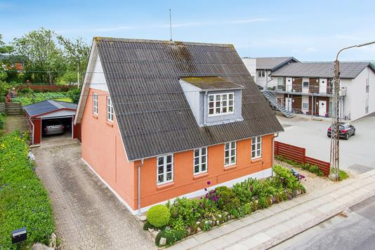 Villa på Bredgade i Hurup Thy - Ejendommen