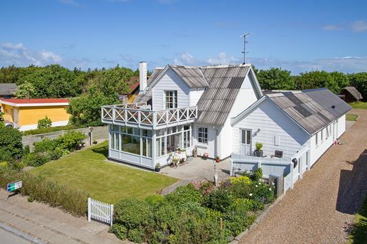 Villa på Klostermøllevej i Vestervig - Ejendommen