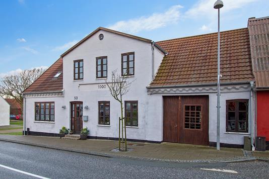 Villa på Klostergade i Vestervig - Ejendommen