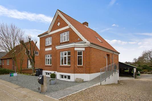 Villa på Algade i Snedsted - Facade