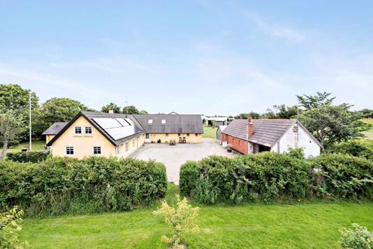 Villa på Korshøjvej i Hurup Thy - Ejendommen