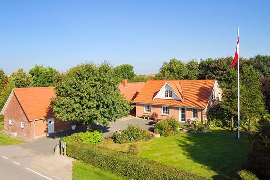 Villa på Morsøvej i Hurup Thy - Ejendommen