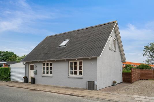Villa på Nørregade i Hurup Thy - Set fra vejen