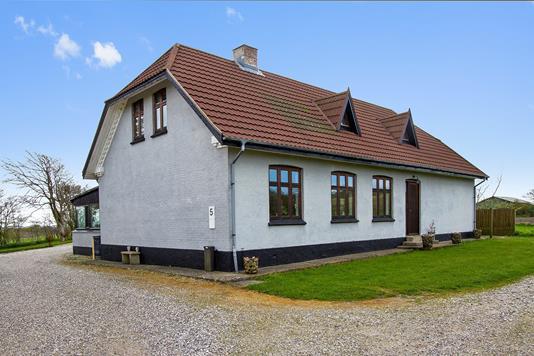 Villa på Hunskjærvej i Bedsted Thy - Ejendommen