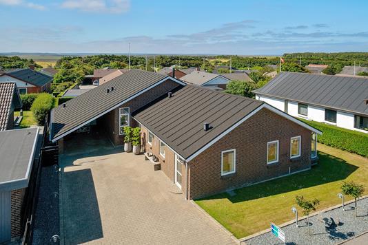 Villa på Havremarken i Hanstholm - Set fra vejen