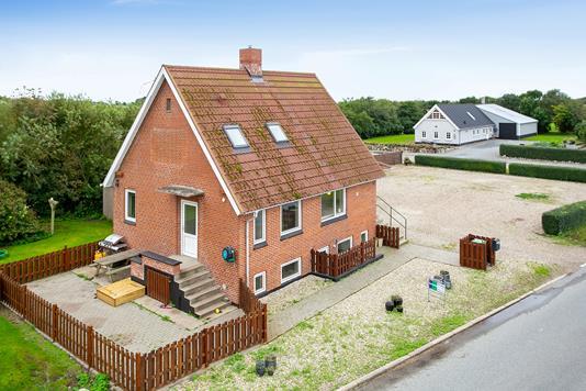 Villa på Tygstrupvej i Vestervig - Set fra vejen