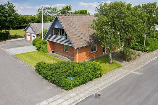 Villa på Kløvermarken i Hurup Thy - Ejendommen