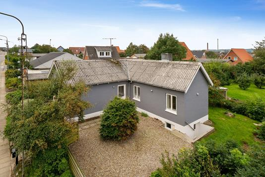Villa på Østervang i Hurup Thy - Ejendommen