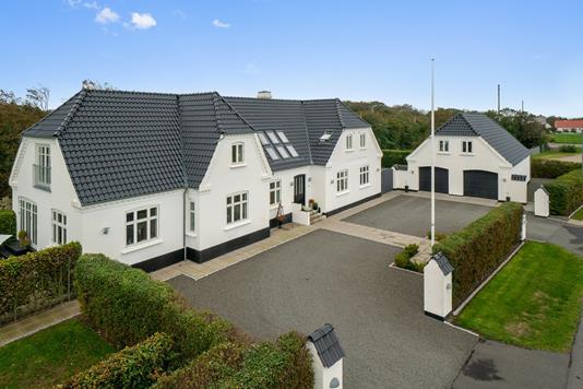 Villa på Teglgårdsvej i Vestervig - Set fra vejen