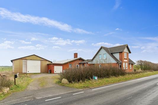 Villa på Ydbyvej i Vestervig - Set fra vejen