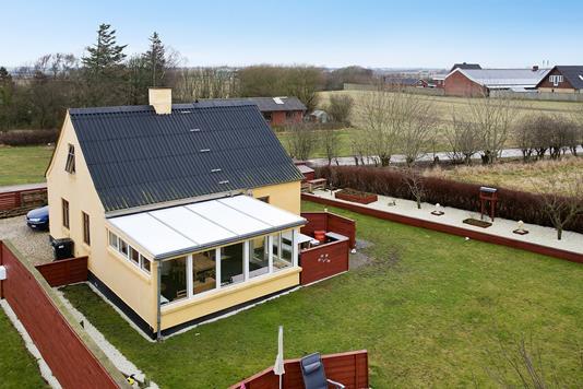 Villa på Stadionvej i Snedsted - Ejendommen