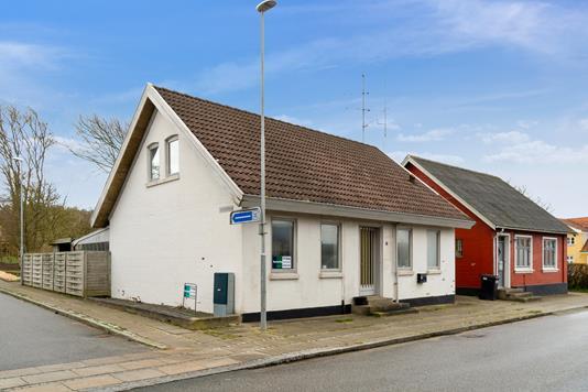 Villa på Vestergade i Vestervig - Set fra vejen