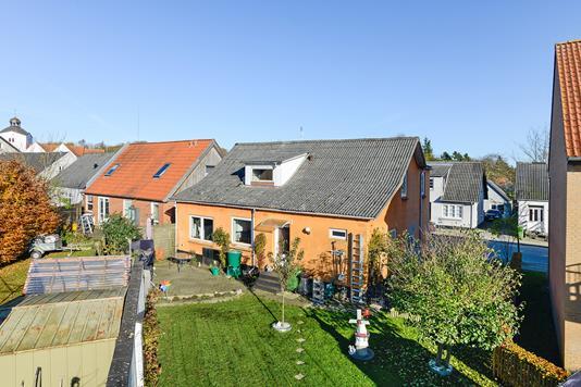 Villa på Aagade i Tørring - Mastefoto