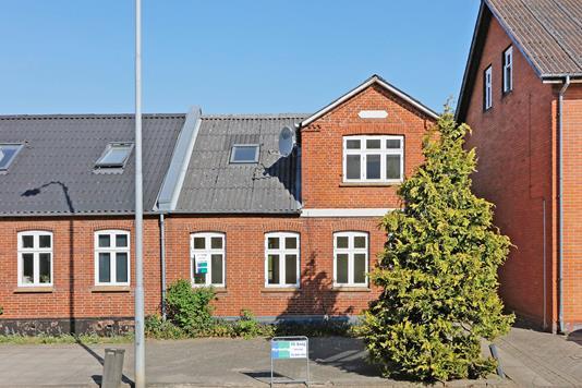 Villa på Bredgade i Tørring - Facade