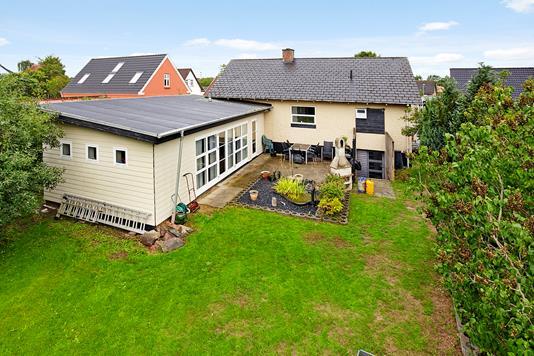 Villa på Nørregade i Uldum - Ejendommen