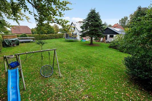 Villa på Horsensvej i Nørre Snede - Have
