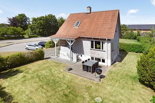 Villa på Kildevej i Rask Mølle - Facade