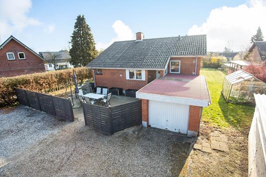 Villa på Bygade i Tørring - Terrasse