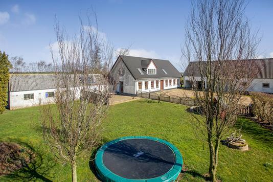 Villa på Alsted Møllevej i Tørring - Have