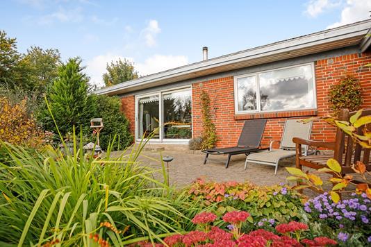 Villa på Hjortevej i Tørring - Terrasse