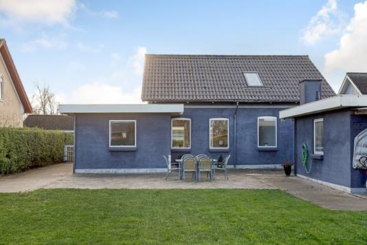 Villa på Dortheasvej i Uldum - Terrasse
