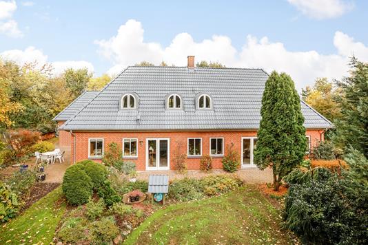 Villa på Dybdalvej i Tørring - Terrasse