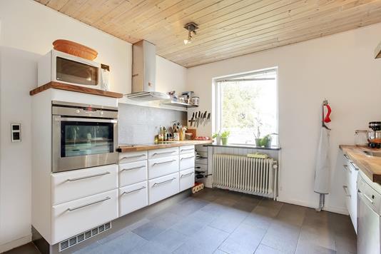 Villa på Østergade i Tørring - Køkken