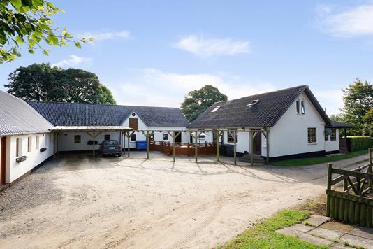 Villa på Knudevej i Vonge - Ejendommen