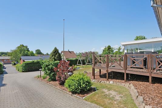 Villa på Kildevej i Rask Mølle - Have