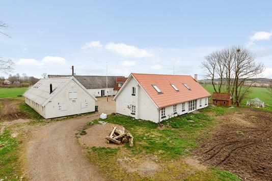 Villa på Krondalvej i Nørre Snede - Mastefoto