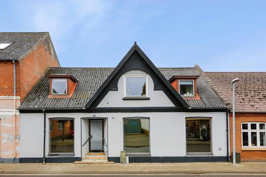 Villa på Søndergade i Uldum - Facade