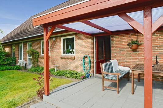 Villa på Skolehaven i Tørring - Terrasse