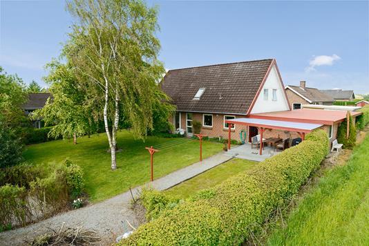 Villa på Skolehaven i Tørring - Facade
