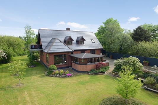 Villa på Svinget i Tørring - Facade