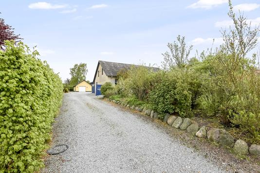 Villa på Viborgvej i Tørring - Indkørsel