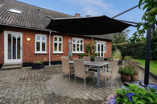 Villa på Aale Bygade i Tørring - Terrasse