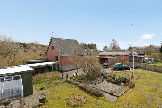 Villa på Teglværksvej i Nørre Snede - Mastefoto