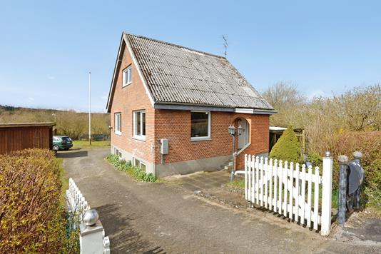 Villa på Teglværksvej i Nørre Snede - Ejendommen
